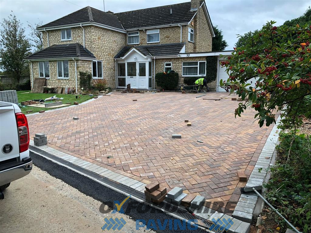 Laying Block Paving in Abingdon, Oxfordshire